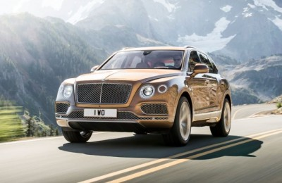 2017 Bentley Bentayga - COVER
