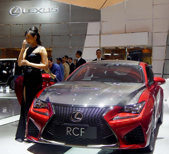 BESTCAR NEWS - Lexus Konsep Fuel-Cell GIIAS 2016 2